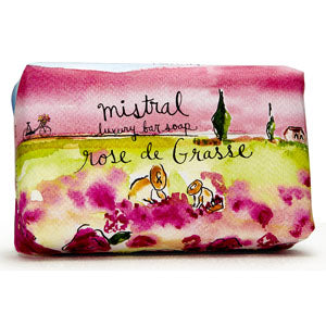 Mistral Provence Road Trip Rose de Grasse French Soap