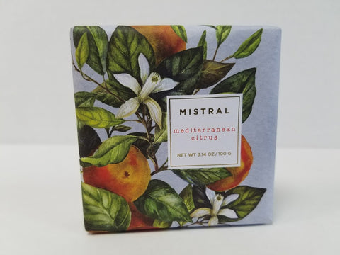 Mistral Seasonal Collection 3.14 oz Mediterranean Citrus Soap