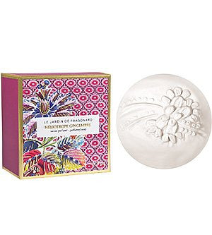 Fragonard Le Jardin Heliotrope Gingembre Sculpted Soap
