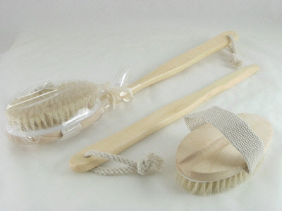 Fine Gift Soaps Boar Bristle Bath Brush