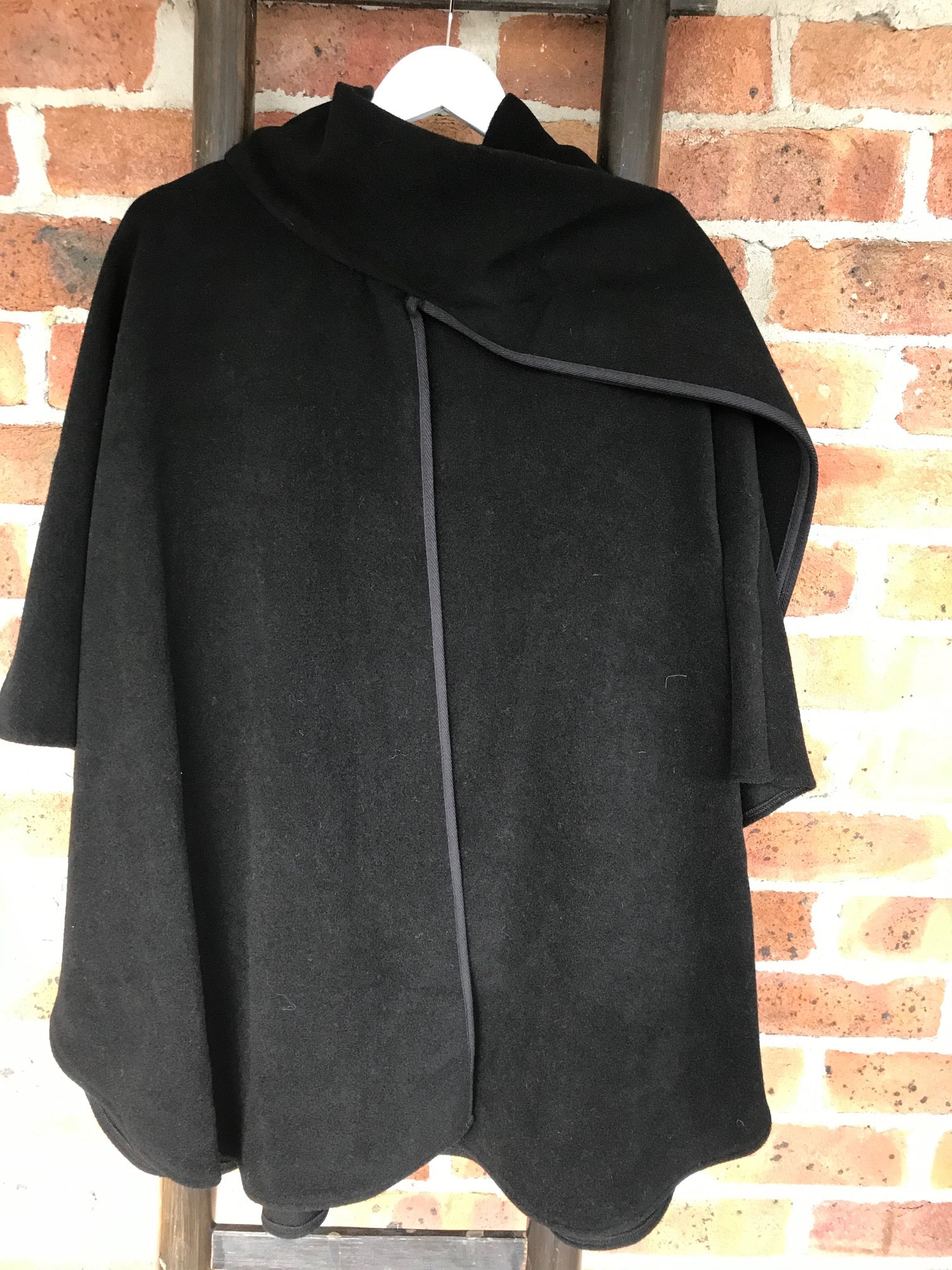 Wool and Cashmere Cape