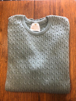 Load image into Gallery viewer, Cable Crew Neck Sweater
