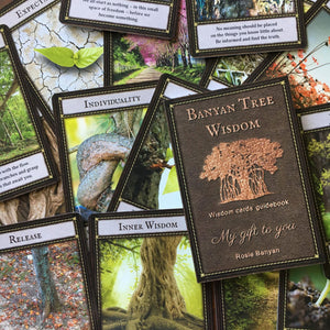 Starter Pack - Banyan Wisdom guidance cards 12 decks plus a shop sample (Wholesale price $199.00 AU)