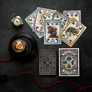 Steampunk 'Animal Magic' Guidance Cards - Pack of 10 (+1 Bonus deck)