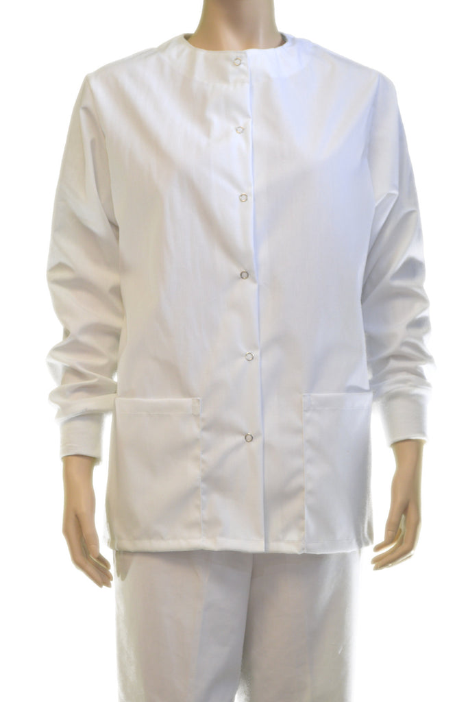 Solid White Jacket