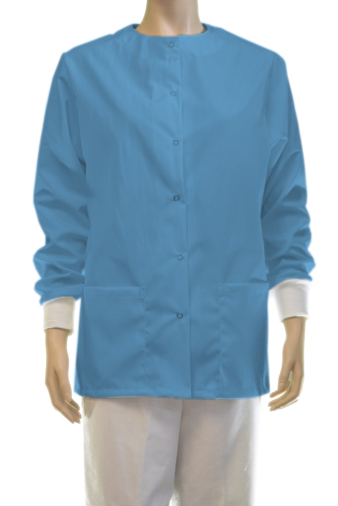 Solid Baby Blue Jacket
