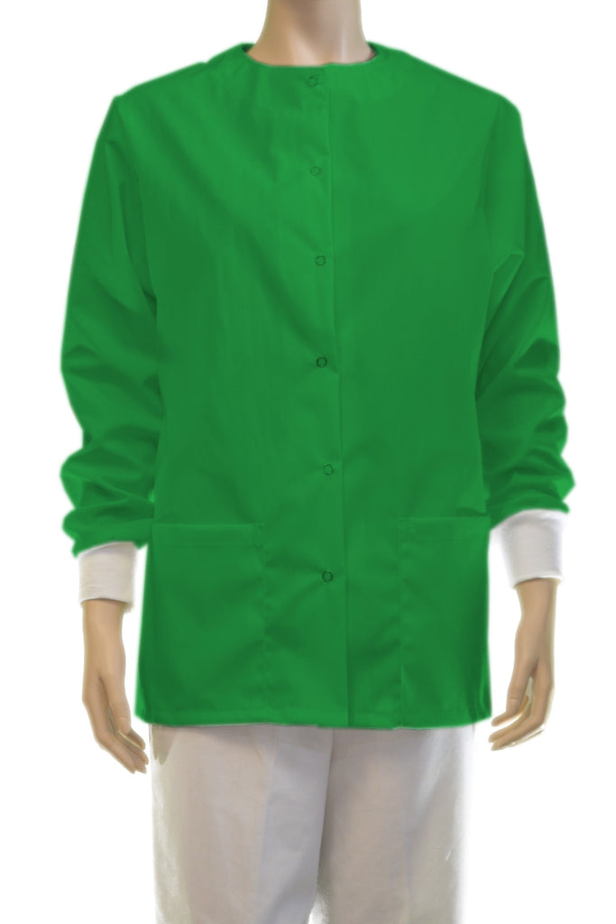 Solid Apple Green Jacket