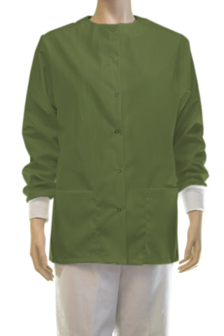 Solid O.D. Green Jacket