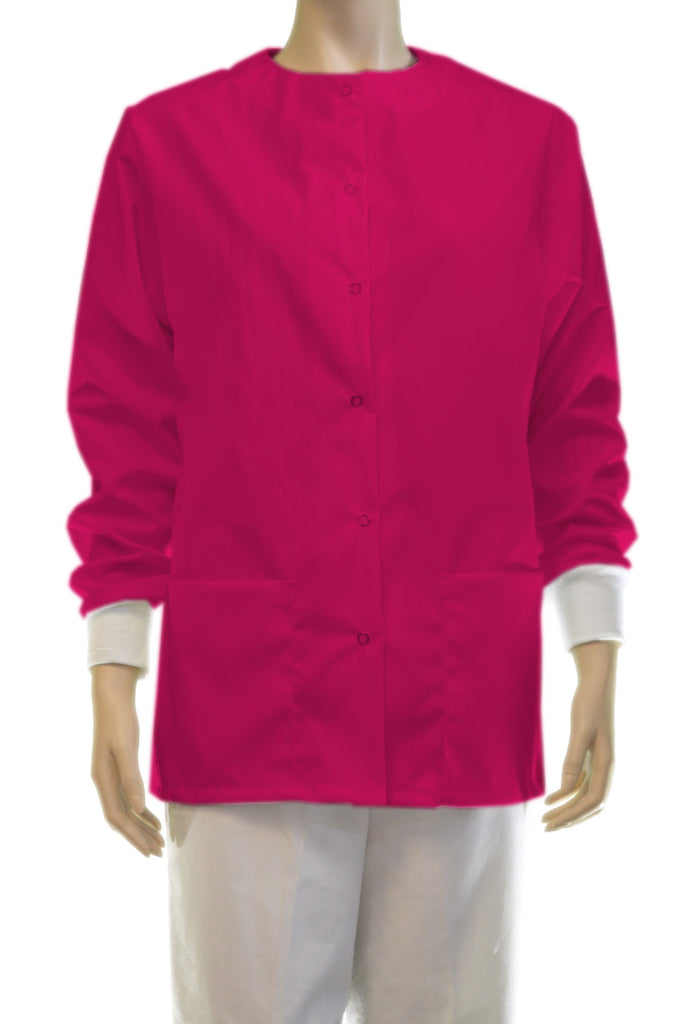 Solid Hot Pink Jacket