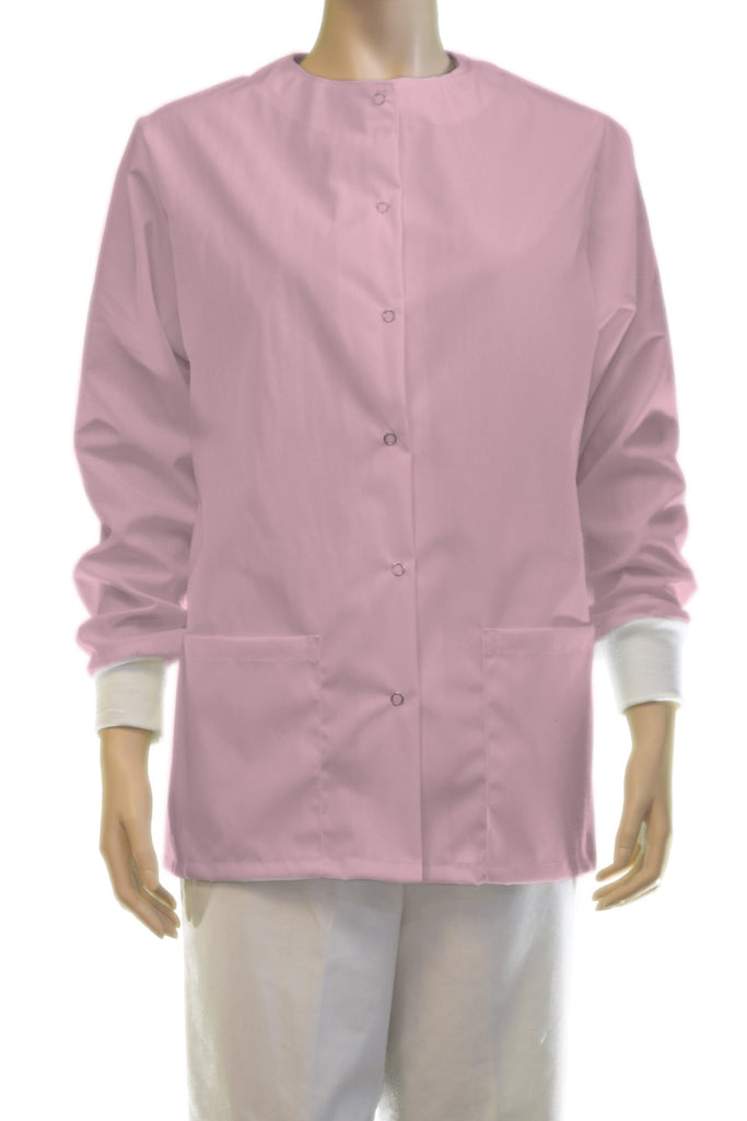 Solid Baby Pink Jacket
