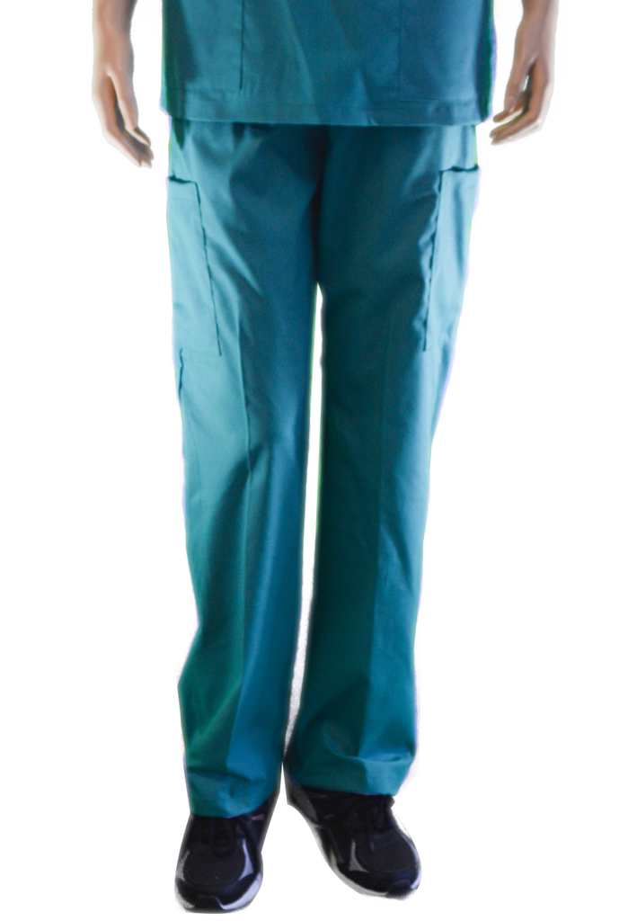 Solid Teal Pants