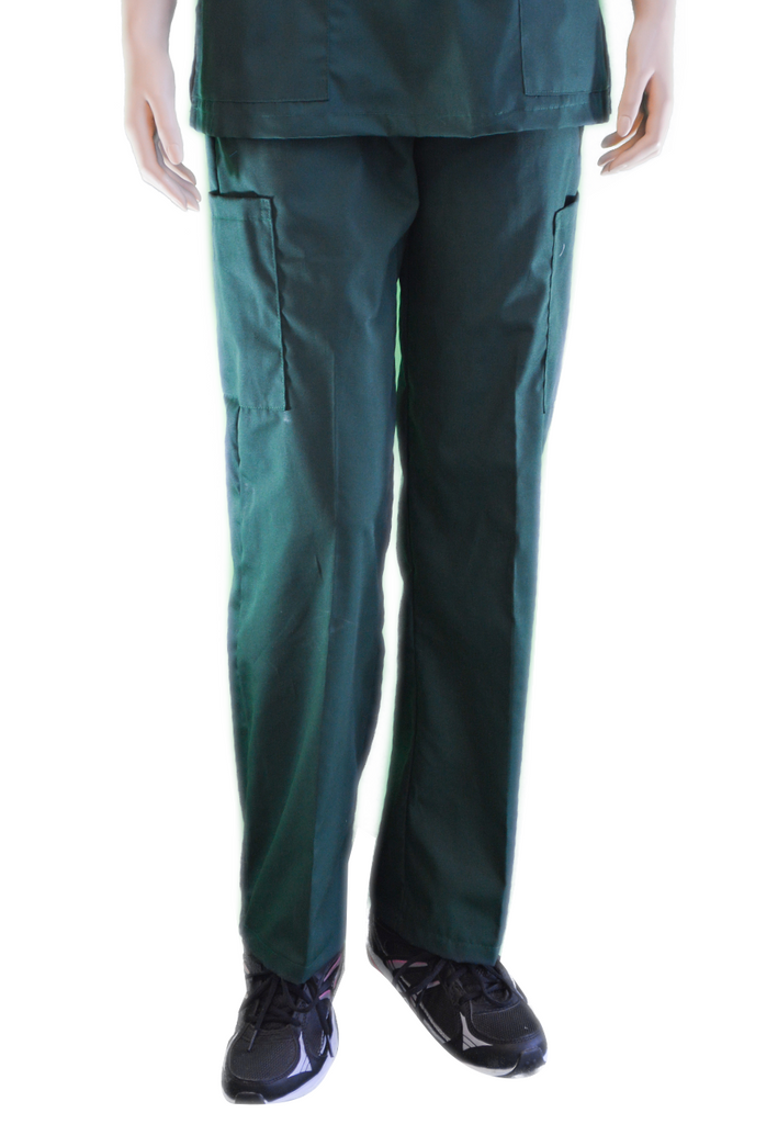 Solid Forest Green Pants