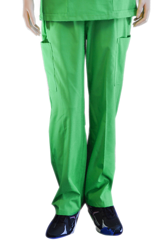 Solid Apple Green Pants