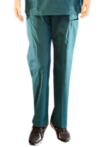 Solid Dark Hunter Green Pants