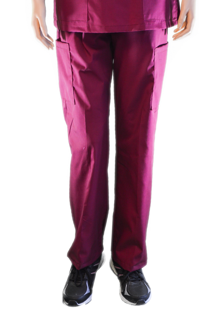 Solid Burgundy Pants