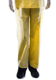 Solid Yellow Pants