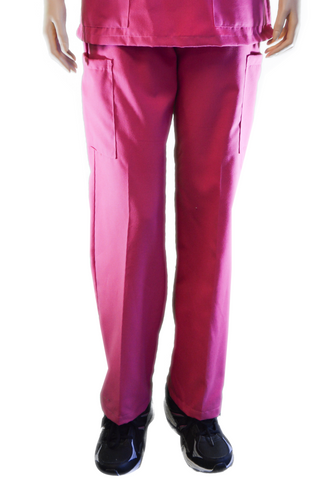 Solid Hot Pink Pants