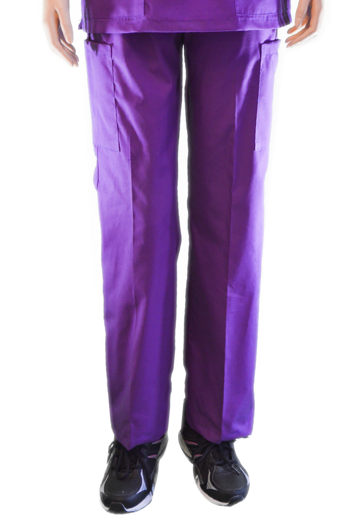 Solid Violet Pants