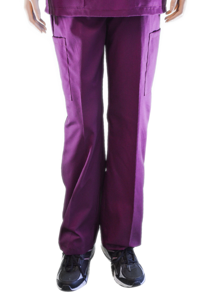 Solid Mulberry Pants