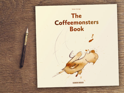 Kickstarter for the coffeemonsters book kicked off really well!