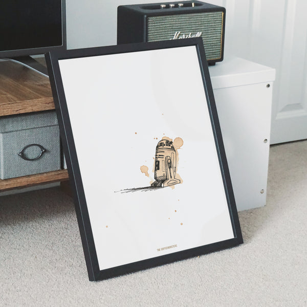 coffeemonsters r2c2 - limited fineart print (preorder)
