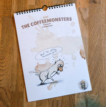 Load image into Gallery viewer, the coffeemonsters - limited Calendar 2021 - 12 month, 12monsters - Edtion of 50