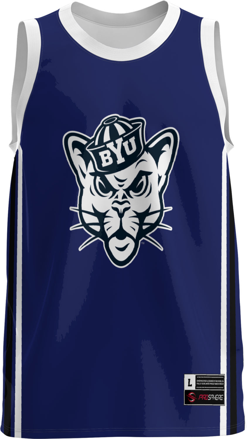 Brigham Young University: Youth Replica Basketball Fan Jersey - Classic