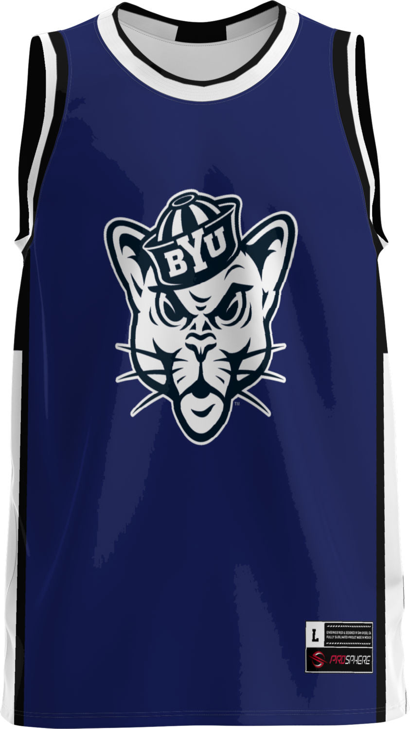 Brigham Young University: Youth Replica Basketball Fan Jersey - Modern