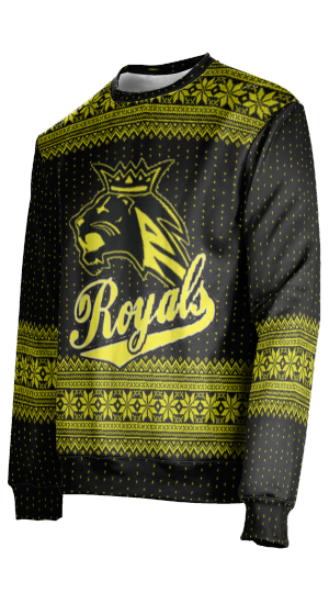 Roy High School: Unisex Ugly Holiday Sweater - Chill