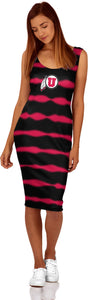 University of Utah Women's Dress - Frequency