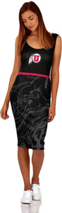 University of Utah Women's Dress - Ripple
