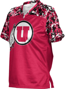 University of Utah Girls' Football Fan Jersey - Digital
