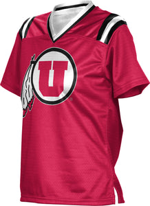 University of Utah Girls' Football Fan Jersey - Goal Line