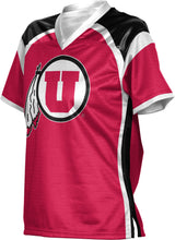 Load image into Gallery viewer, University of Utah Girls' Football Fan Jersey - Redzone