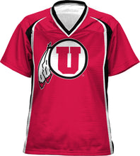 Load image into Gallery viewer, University of Utah Womens' Football Fan Jersey - Wild Horse