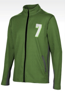 Men's Full-Zip Active Long Sleeve Jacket