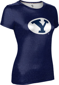 Brigham Young University: Women's T-shirt - Heather