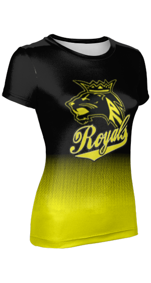 Roy High School: Women's Customizable T-Shirt - Hex Pro
