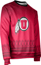 Load image into Gallery viewer, University of Utah Ugly Holiday Unisex Sweater - Blizzard