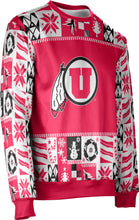 Load image into Gallery viewer, University of Utah Ugly Holiday Unisex Sweater - Wrap
