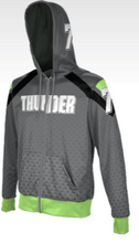 Load image into Gallery viewer, Men's Fullzip Premium Sublimated Hoodie