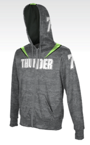 Men's Fullzip Premium Sublimated Hoodie