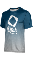 Load image into Gallery viewer, Utah DECA: Men's T-Shirt - Ombre (Blue)