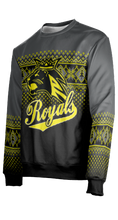 Load image into Gallery viewer, Roy High School: Unisex Ugly Holiday Sweater - Rejoice