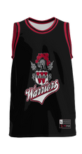 Load image into Gallery viewer, Weber High School: Adult Custom Basketball Fan Jersey - Retro (Black)