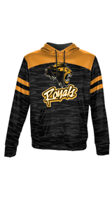 Royals - Men's Premium Full Sublimation Pullover Hoodie - Burn Out