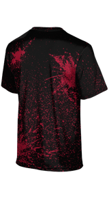 Weber High School: Men's Customizable Fan-Shirt - Splatter (Black)