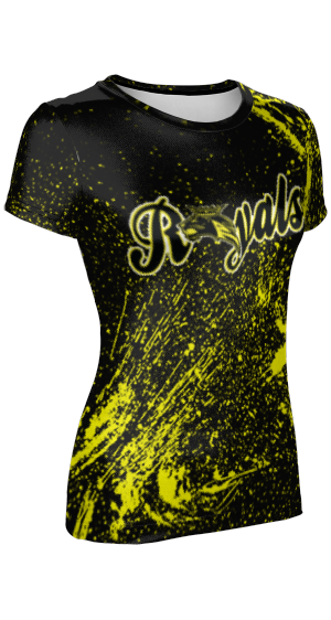 Roy High School: Women's Customizable T-Shirt - Splatter