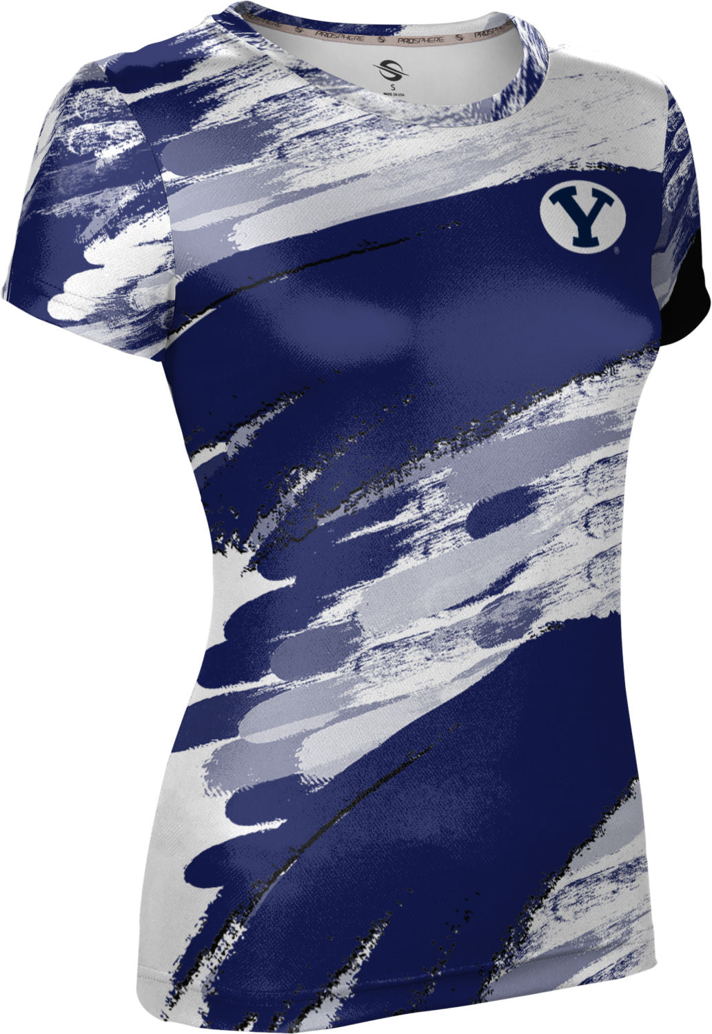 Brigham Young University: Women's T-shirt - Streak