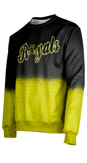 Roy High School: Men's Sweater - Spray